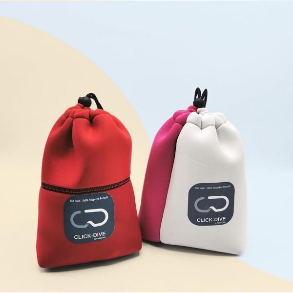 pochettes en néoprène recyclé français artisanaux